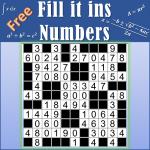 Number Fill in puzzles – Numerix, numeric puzzles  6.6 (Mod)