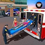 Police Ambulance Rescue Driving: 911 Emergency 1.0 (Mod)