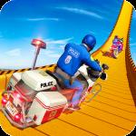 Police Bike Mega Ramp Impossible Bike Stunt Games 2.9 (Mod)