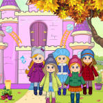Pretend Play Doll House: Town Family Mansion Fun 1.0.8 (Mod)