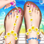 💅Princess Nail Makeup Salon2 – Beautiful Toenail 2.7.5026 (Mod)