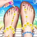 💅Princess Nail Makeup Salon2 – Beautiful Toenail  2.9.5052 (Mod)