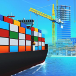 Sea Port: Build Town & Ship Cargo in Strategy Sim 1.0.142 (Mod)