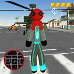 Spider Stickman Rope Hero Crime City bBattle 1.0 (Mod)