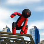 Spider Stickman Rope Vegas Crime City Hero  1.0.25 (Mod)