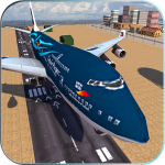 Take off Airplane Pilot Race Flight Simulator 1.0 (Mod)