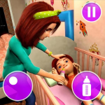 Virtual Mother Game: Family Mom Simulator 1.24(Mod)