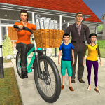 Working Mom Newspaper Girl Family Game 1.17 (Mod)