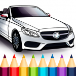 World Cars Coloring Book 1.16.4 (Mod)