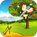 Apple Shooter : Slingshot Knockdown Shooting Games 10 (Mod)