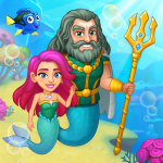 Aquarium Farm -fish town, Mermaid love story shark  1.36 (Mod)