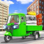 City Rickshaw Cargo Transport: Driver Simulator 3D 1.4 (Mod)