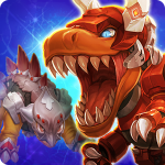 Dino King Tyranno VS Stego 1.6.7 (Mod)