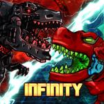 Dino Robot Infinity : Dinosaur Battle Game 2.8.0 (Mod)