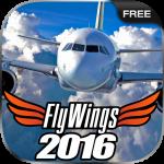 Flight Simulator 2016 FlyWings Free 1.4.1 (Mod)