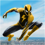 Flying Spider Rope Hero – Super Vice Town Crime 1.0.29 (Mod)
