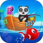 Happy Fisher Panda: Ultimate Fishing Mania Games 2.5 (Mod)