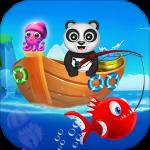 Happy Fisher Panda: Ultimate Fishing Mania Games 2.5 (Mod)