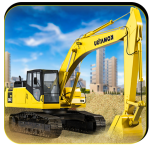 Heavy Excavator Crane Simulator 2018 1.2.3 (Mod)