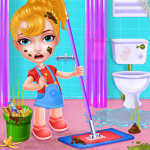 Keep Your House Clean – Girls Home Cleanup Game 1.2.56  (Mod)