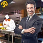 MY restaurant Manager: Virtual manager games 3D 1.3 (Mod)