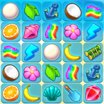 Onet Paradise: connect 2 or pair matching game 1.45 (Mod)