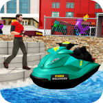 Pizza Delivery Jet Ski Fun 1.1 (Mod)