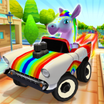 Pony Craft Unicorn Car Racing – Pony Care Girls 1.1.25 (Mod)