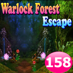 Warlock Forest Escape Game 158 1.1.19 (Mod)