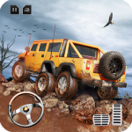 8×8 Offroad Mud Truck Spin Tires: Trucker Games 18 1.7 (Mod)
