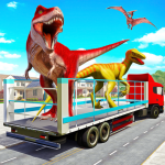 Angry Dino Zoo Transport: Animal Transport Truck 27 (Mod)
