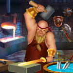 Blacksmith Factory: Weapon making & Crafting Games 1.0.3 (Mod)