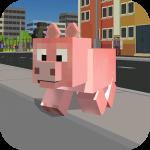 Blocky City Pig Simulator 3D 1.10 (Mod)