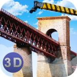 Bridge Construction Crane Sim 1.39 (Mod)
