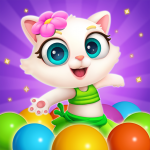 Bubble Shooter: Cat Island Mania 2020 1.10 (Mod)