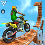 Crazy Bike Stunt Racing Games : Bike Racing 3D 2.2 (Mod)