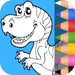 Dinosaurs Coloring Pages 1.2.6 (Mod)