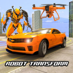 Drone Robot Car Transform Robot Transforming games 2.6 (Mod)