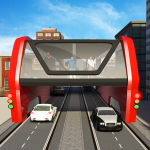Elevated Bus Simulator: Futuristic City Bus Games 2.3 (Mod)