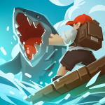 Epic Raft Fighting Zombie Shark Survival Games  1.0.3 (Mod)