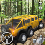 Extreme Offroad Mud Truck Simulator 6×6 Spin Tires 2.4 (Mod)