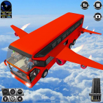 Flying Bus Driving simulator 2019: Free Bus Games  3.2 (Mod)