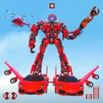 Flying Car Transform Robot War : Moto Robot Games 1.0.7 (Mod)