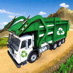 Flying Garbage Truck Simulator City Trash Driver 2.6 (Mod)