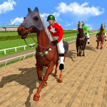 Horse Racing Games 2020: Derby Riding Race 3d 4.4(Mod)