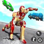 Iron Superhero War: Iron Robot Rescue Mission 2020 1.2.12 (Mod)