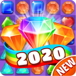 Jewel Blast 2020-Gem Crush Match 3 1.1.3 (Mod)