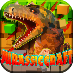 JurassicCraft: Free Block Build & Survival Craft 5.0.5 (Mod)