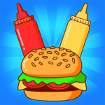 Merge Burger Food Evolution Cooking Merger  2.3.0 (Mod)