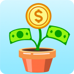 Merge Money I Made Money Grow On Trees  1.6.1 (Mod)